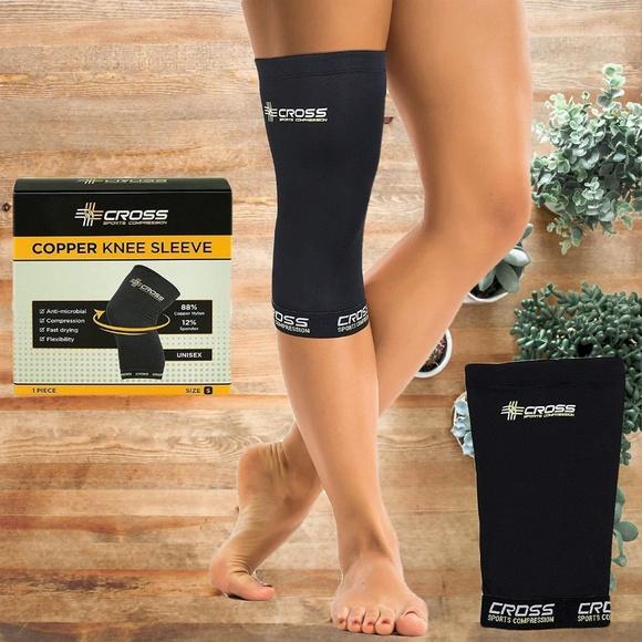 eef7723fe7 Accessories | Copper Knee Brace Support Sleeve Large | Poshmark